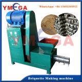 Máquina de fabricação de carvão vegetal de madeira elétrica contínua de projeto novo