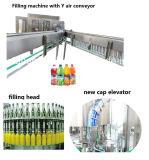 Het automatische Sap met de Hete Aardbei van de Pulp drinkt Machine van het Flessenvullen van het Huisdier van de Drank van het Water de Soda Sprankelende Bottelende Verpakkende