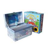 Коробка цветастого размера печатание изготовленный на заказ упаковывая бумажная