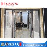 Porta de mola com vidro temperado para entrada