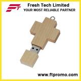Movimentação transversal do flash do USB do estilo de Bammboo&Wood (D807)
