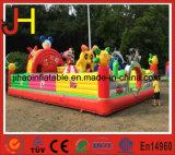 Freizeitpark-aufblasbarer springender Prahler kombiniert für Ereignis