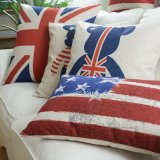 Ropa de algodón suave Lumbar almohadas decorativas