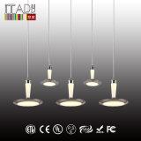 LED-modernes hängendes Licht