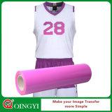Винил передачи тепла PU Qingyi Stretchable для тенниски