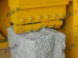 Hydraulische Steinaufspaltenausschnitt-Maschine für Würfel-/Kopfstein-/Pflasterung-Steine (P95)