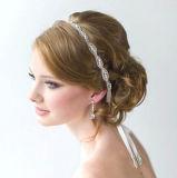 Caschi nuziali romantici dei perni di capelli degli accessori dei capelli di cerimonia nuziale