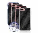 Роскошное волокно углерода гальванизирует оптовую продажу 2016 iPhone 7 аргументы за зеркала PC добавочную