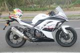 150cc 200cc 250cc che corre la bici di sport della motocicletta con colore bianco