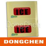 Etiqueta resistente UV impressa reflexiva adesiva feita sob encomenda do carro