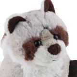 Het leuke Stuk speelgoed van de Wasbeer van de Pluche Dier Gevulde