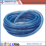 Manguera flexible de la succión del petróleo del agua del PVC de 4 pulgadas