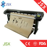 Jsx 1350/1800 trazador de gráficos vertical del corte de la inyección de tinta de la consumición inferior profesional de la ropa