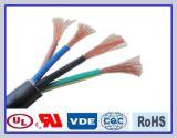 De Bestand Elektrische Kabel op hoge temperatuur van de Draad