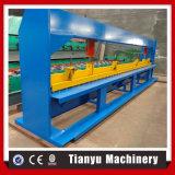 Machine à cintrer de produit plat de feuille hydraulique de plaque