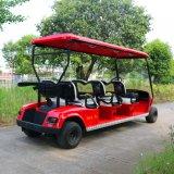 電気6人の乗客のゴルフカート