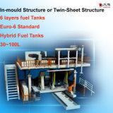 macchina in-Mould o gemellare dello stampaggio mediante soffiatura dello strato per l'euro 6 serbatoi dell'olio standard
