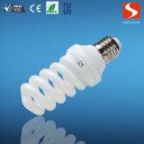 Volle energiesparende Lampe der Spirale-25W mit Unterseite E27/B22