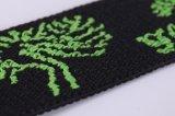 Personalizar la cinta elástica de tejido de nylon tejido Jacquard para bolso