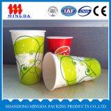 Tazas de papel de un sólo recinto para las bebidas calientes