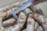 Type de tube double Taille facultative Machine de fabrication de farce de remplissage de saucisse électrique automatique