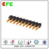 Long Life Test 10pin Pogo Pin Power Connector pour charge