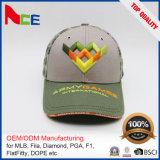 刺繍されたパターンおよび6パネルの帽子のパネル様式の野球帽