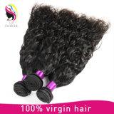 工場価格の自然な波のブラジルのバージンの人間の毛髪の拡張