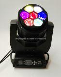 7X15 Вт светодиод глаз пчеловодства перемещение светового пучка света