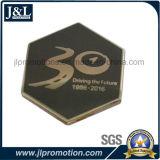 Умрите пораженный латунный Pin отворотом Semi-Cloisonne с люкс муфтой