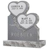 墓地のためのG633花こう岩の倍の中心デザイン記念碑