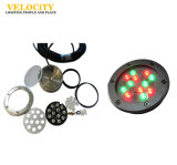 24V 18With36W multi Farbe Wand-Installiertes IP68 RGB LED Swimmingpool-Licht