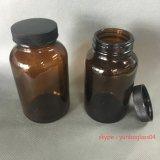 de Brede Fles van het Glas van de Fles van de Mond 200ml 250ml Farmaceutische voor Tablet