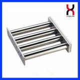 Filtro magnético, separador magnético, imán del cajón para la industria plástica