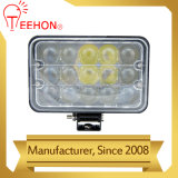 Lumières carrées élevées de travail du lumen 45W 4D DEL pour la jeep