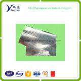Couverture thermique tissée de palette isolée par tissu de papier d'aluminium de nourriture et de transport de boissons