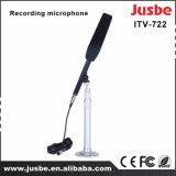 Cardioid y micrófono elegido Supercardioid de la entrevista de la grabación del estudio del CCTV DSLR
