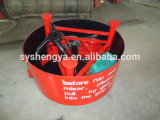 Marca Shengya Jq500 la cacerola grande Twinshaft paleta mezcladora de cemento y hormigón para el material de construcción