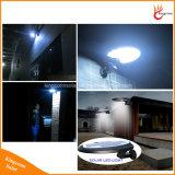 luz solar al aire libre de la pared del sensor de movimiento del jardín de 500lm 56 LED