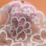 2017 Китая популярные розовый цвет свадьбы кружевом