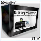 15 LCD van de duim de Transparante Showcase van het Comité (xh-dpf-150C)