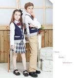 """Il nuovo stile scherza gli uniformi scolastichi in """" public school """" di 100%Cotton"""