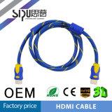 Câble sonore du vidéo HDMI 1080P d'Ethernet en gros du support de Sipu 3D