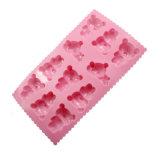 Certificat de la FDA de nouveau produit matériel de qualité alimentaire moule à cake en silicone, Rilakkuma en forme de moule à cake en silicone/chocolat moule