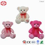 De roze en Blauwe Super Zachte Luim Gevulde Teddybeer van de Pluche