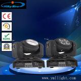 Indicatore luminoso capo mobile della nuova doppia del fronte LED mini lavata del fascio