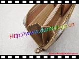 Entwurfs-Reißverschluss-Dame Wallet mit Nietguangzhou-Fabrik