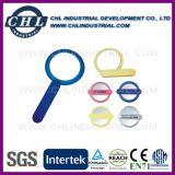 Logo pliable de luxe La personnalisation de Miroir de poche en plastique pour cadeau