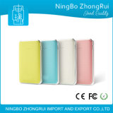 Portable Polymer Power Bank Chargeur de batterie 6000mAh Mobile