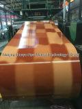 Ral 3016 Color bobina de aço revestido, Folhas de Metal Roofing Rolos, PPGI bobina de aço galvanizado para telhados